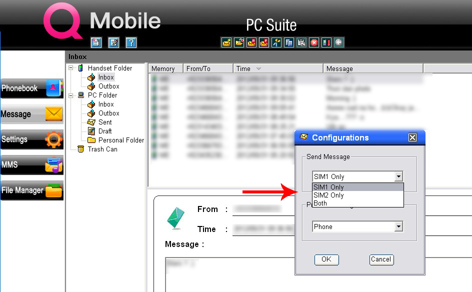 HassanRashiSoft: Q mobile PC Suite