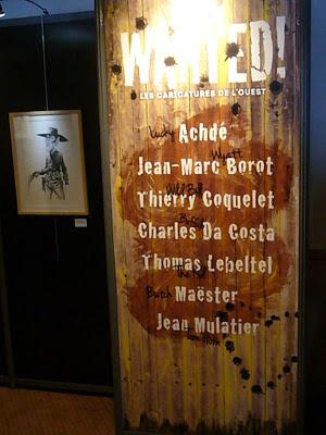 Exposition Wanted! à Quai des Bulles 2012