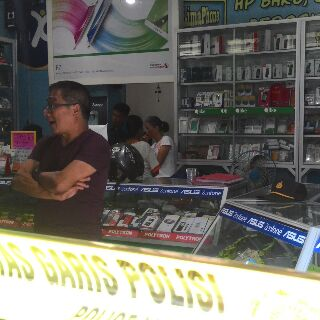 Digasak Maling, Pemilik Toko 55 Phone Rugi Ratusan Juta