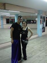 Con el Bailarin SAID