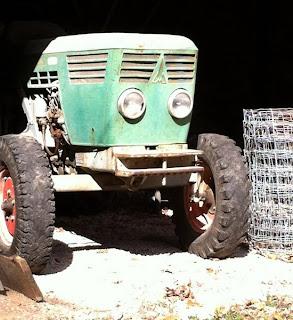 El increíble y genuino ¡Pato-tractor!