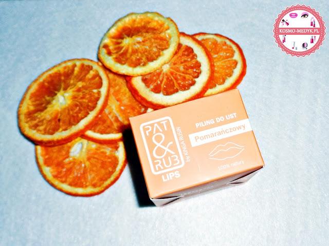 Pat&Rub - Pomarańczowy peeling do ust.