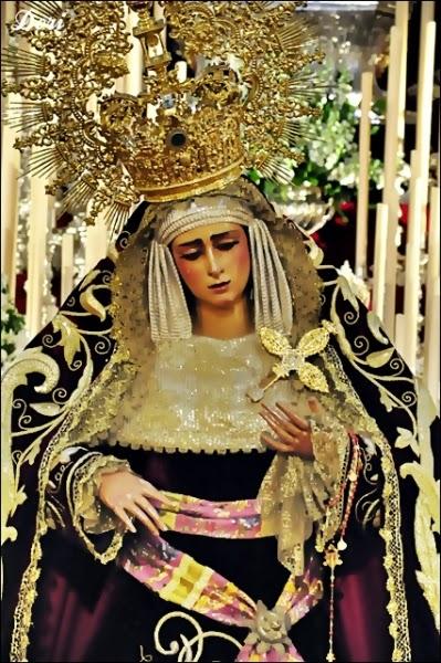 Virgen Las Angustias 2014