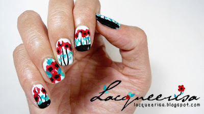 Lacqueerisa: Little Poppies