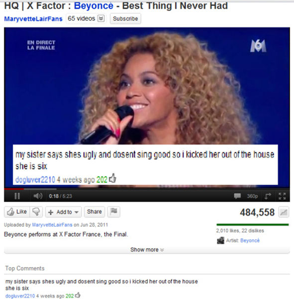 30 Really Funny YouTube Comments
