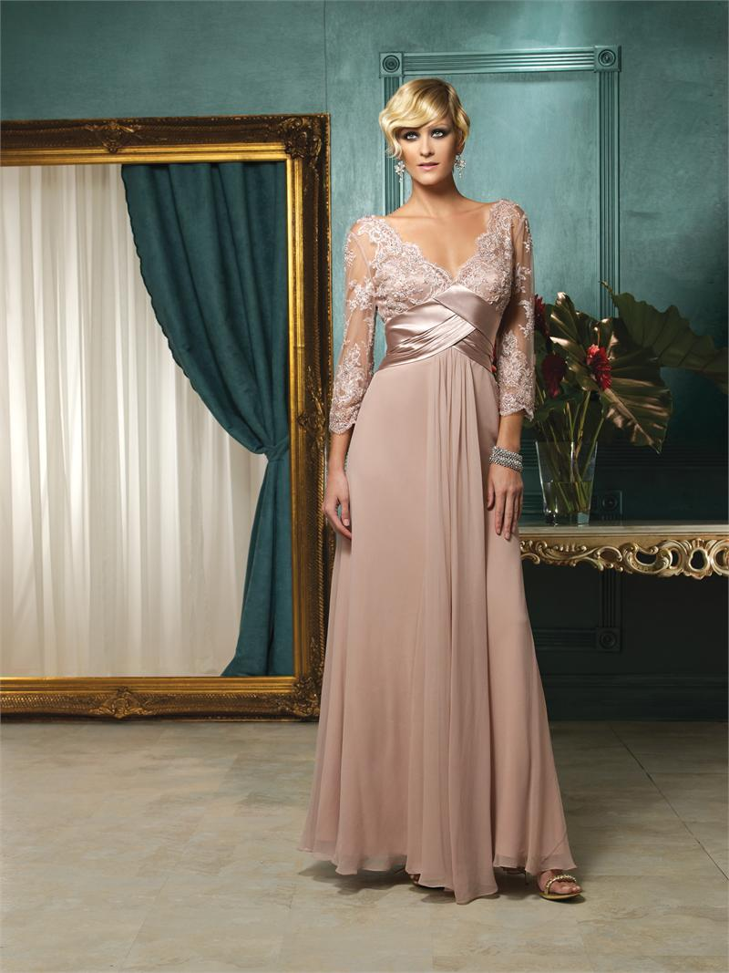 Pink Nother of Bride Dresses