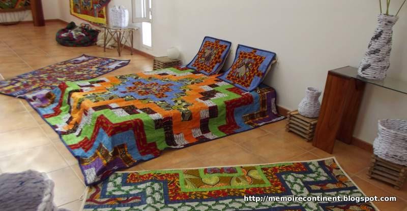 m moire d 39 un continent art textile d coration mode et travaux manuels. Black Bedroom Furniture Sets. Home Design Ideas