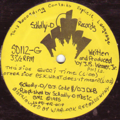 Schoolly D – P.S.K. – What Does It Mean (VLS) (1985) (320 kbps)