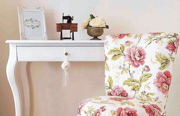 El estilo Shabby chic esta inspirado en la decoracion de las casas de ...
