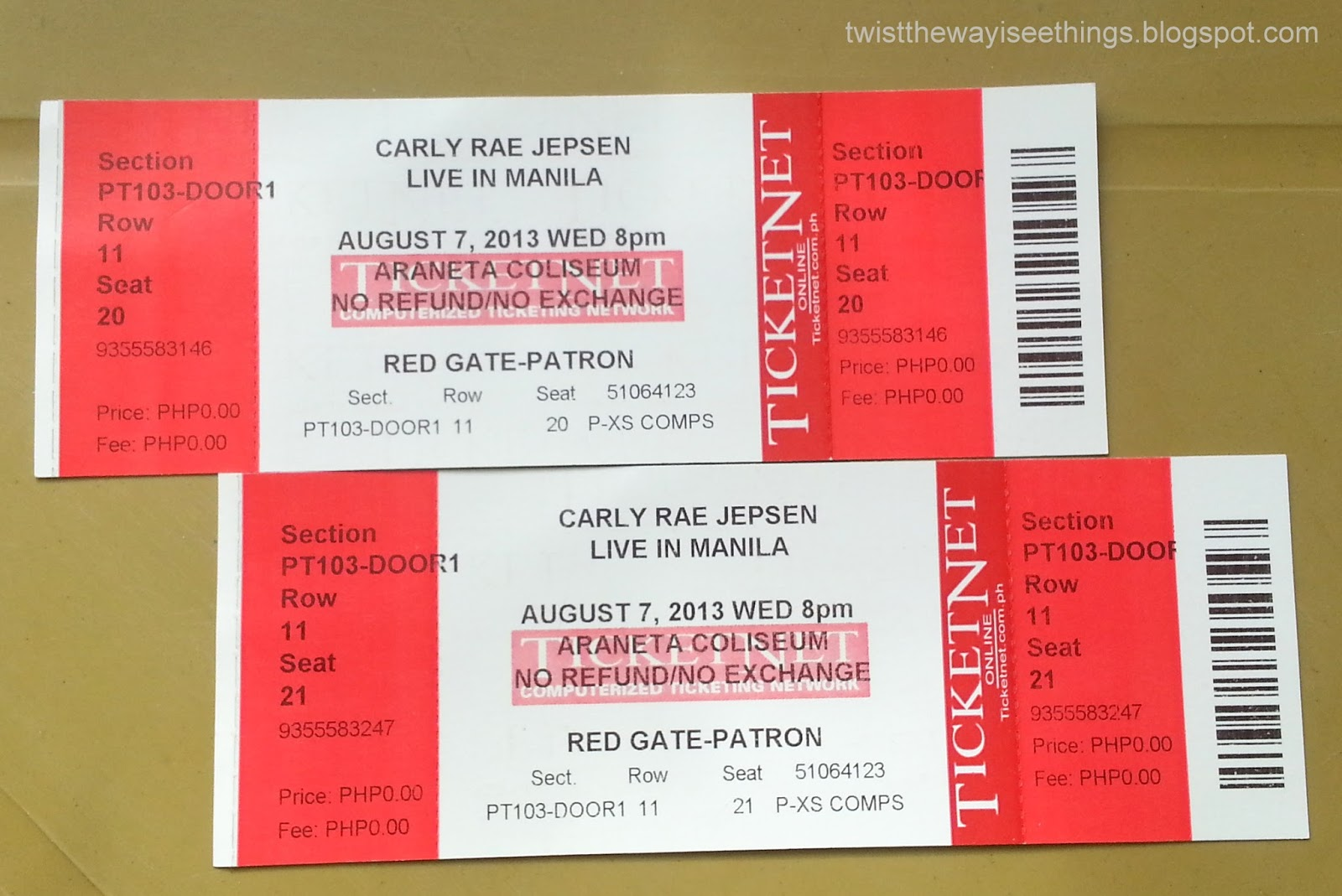 Win Two Tickets To See Carly Rae Jepsen In Concert In Manila Twist