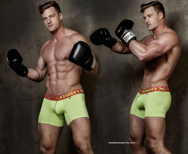 Alex Cairns by Armando Adajar for Xtremen Underwear