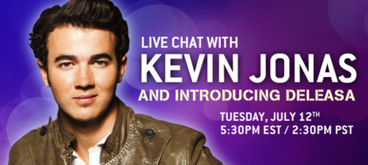 Jonas Brothers ⇨ Noticias Generales Kevin+chat