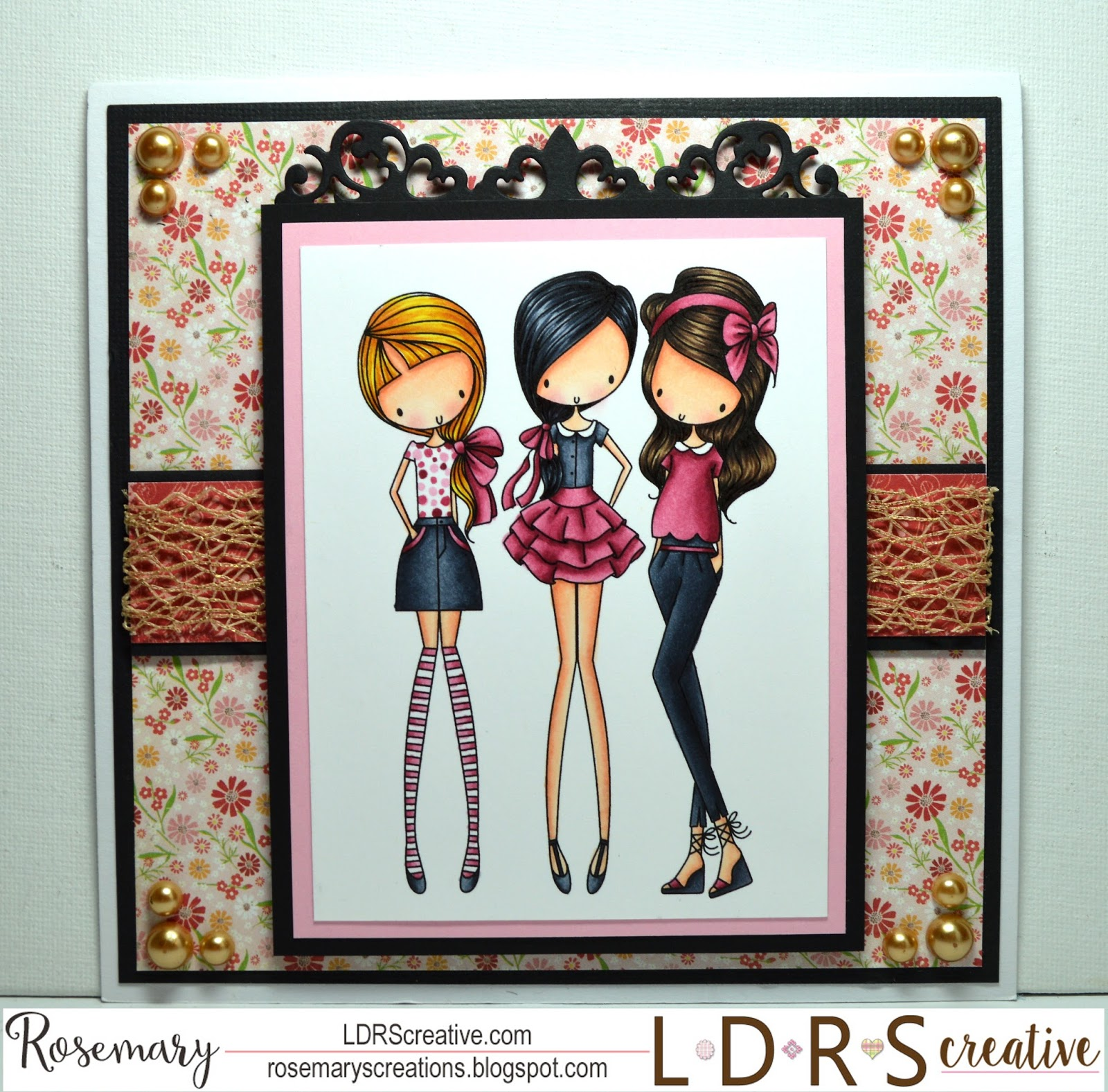 Rosemary\'s Creations: LDRS Creative~All Dressed Up Girl\'s Night Out!