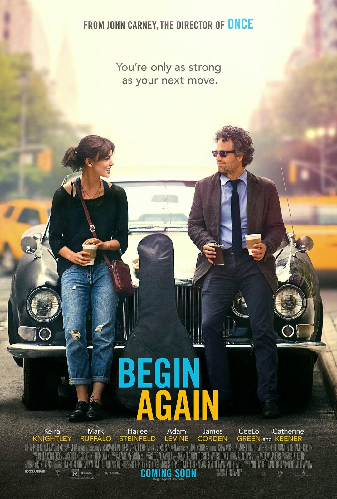 Movie Review: Begin Again (2013)
