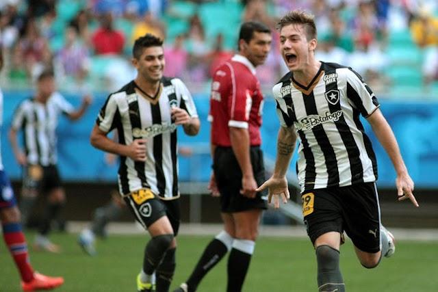 Botafogo arranca empate em Salvador e segue líder da Série B