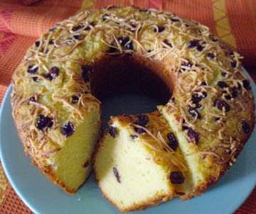 Cake Buah Yang Manis dan Lembut