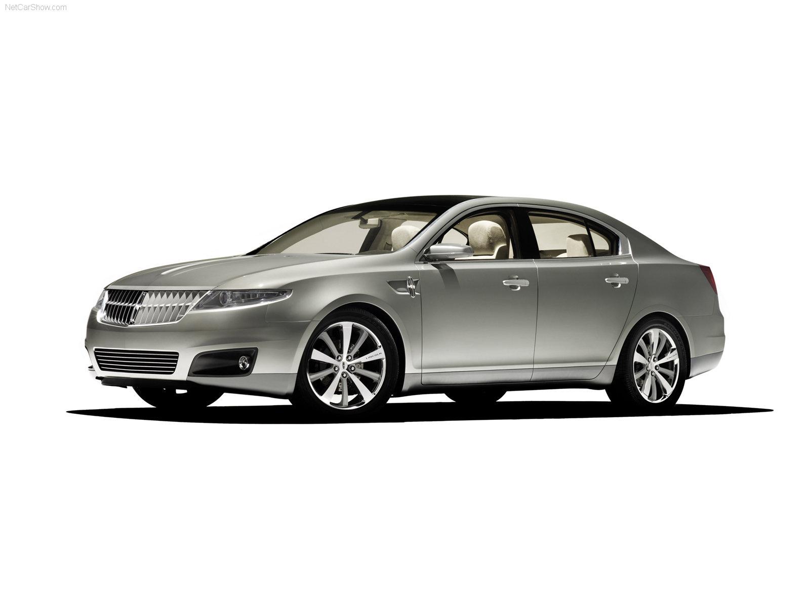 Hình ảnh xe ô tô Lincoln MKS Concept 2006 & nội ngoại thất
