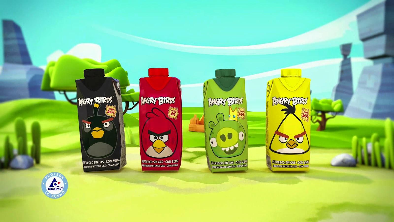 Los nuevos Juver Angry Birds