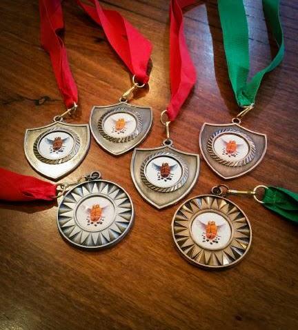 Grata Espresso golden bean medals