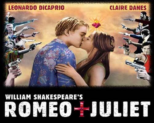 la pelicula romeo y julieta con leonardo dicaprio: