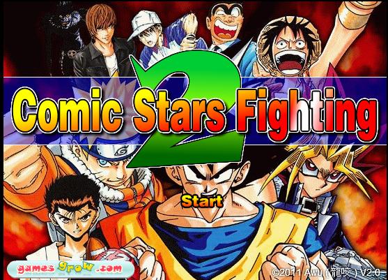 Comic Stars Fighting 2 Games 2