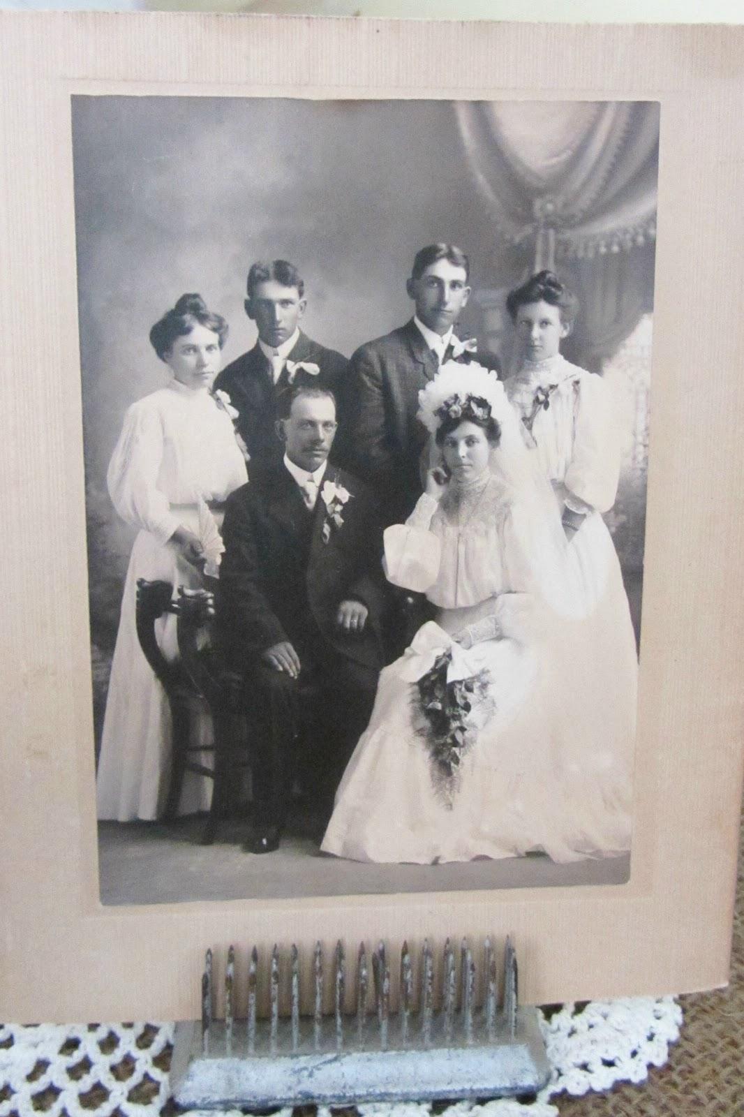 Vintage Bridal Vignette