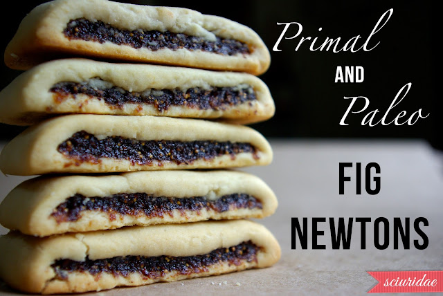 Primal Paleo fig newtons stacked