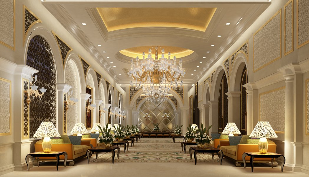 Marriage Hall Front Elevation Images : Casatreschic interior marriage banquet hall hotel front