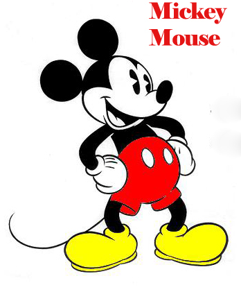 mickey mouse - Popular Cartoon Characters