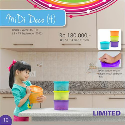 Tupperware Midi Deco
