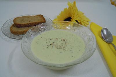 Crema de pepino