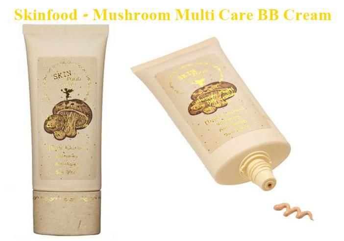 rubibeauty skinfood mushroom bb cream review