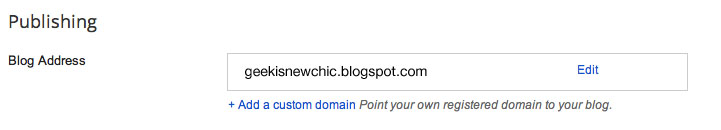 Another blog or Google Site is already using this address FIX!