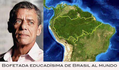 Chico Buarque responde ante internacionalización de la Amazonía