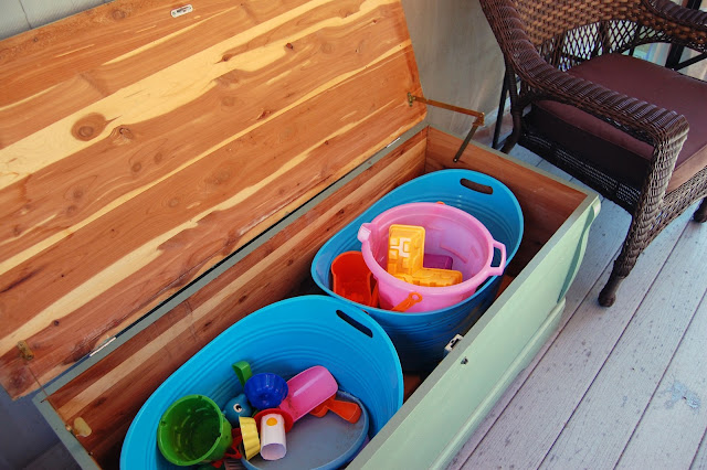 Outdoor Toy Chest