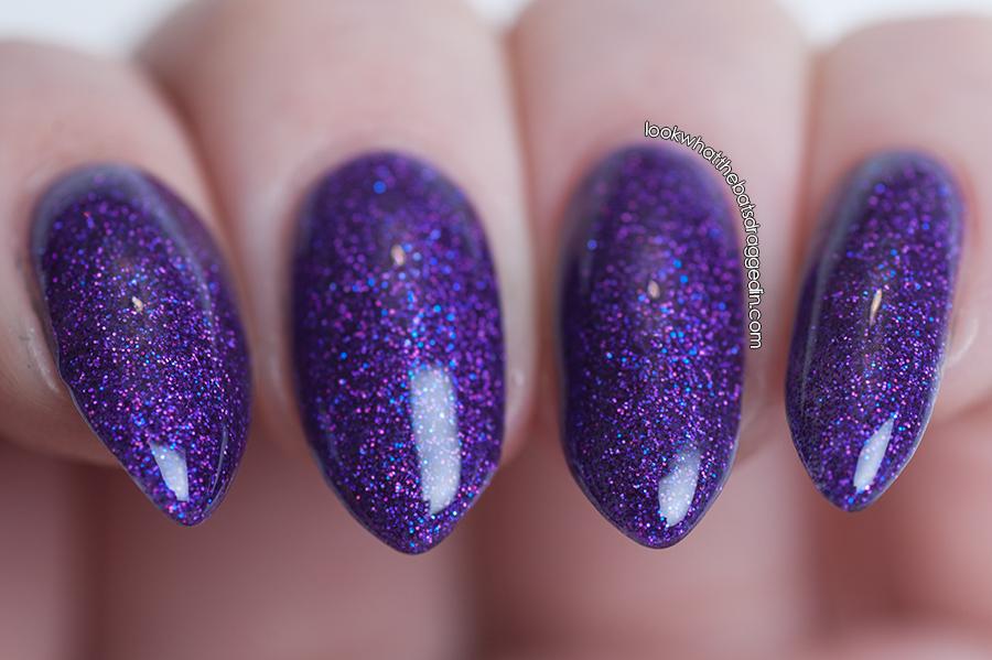 Moonstone Nail Polish Dark Shines