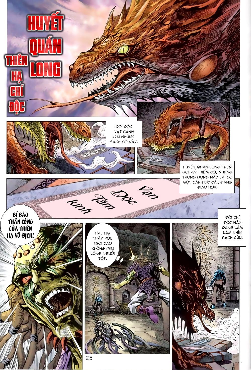Tân Tác Long Hổ Môn chap 819 Trang 25 - Mangak.info