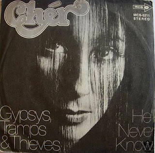 'Gypsies Tramps and Thieves' single cover