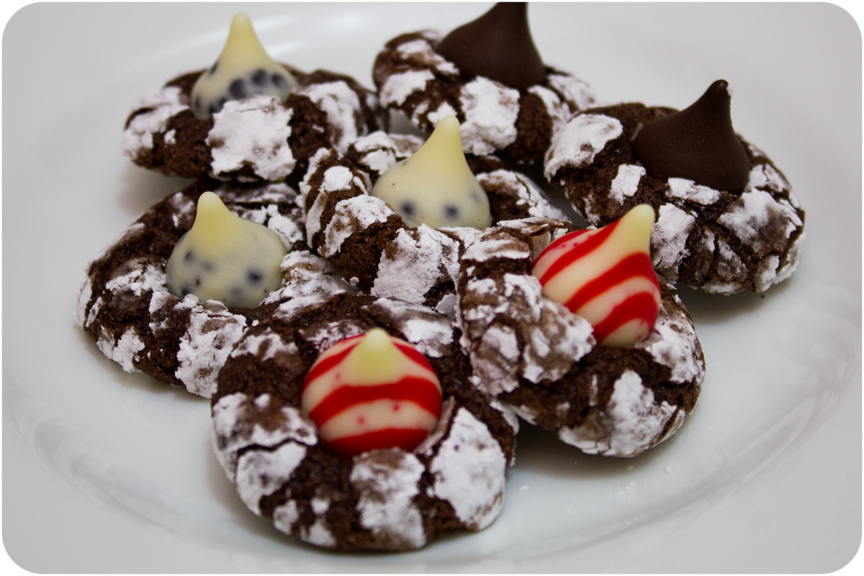 how to make sugar cookies with hershey kisses on top