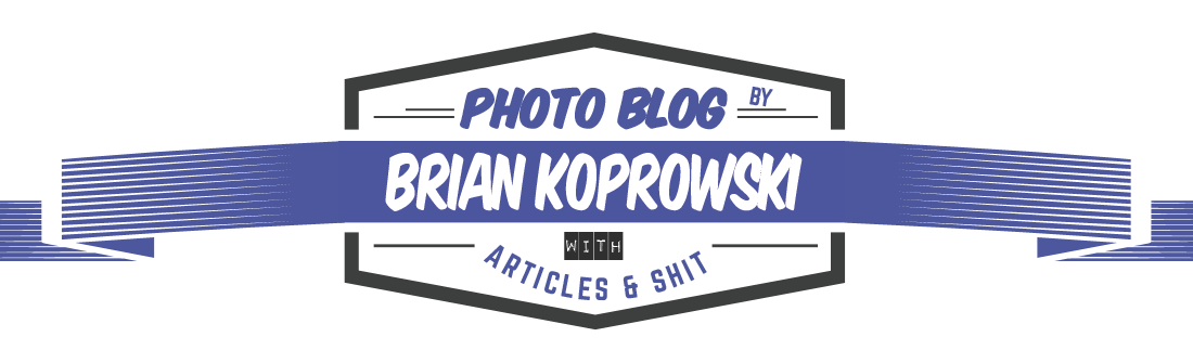 Brian Koprowski Photography: Photo Journal