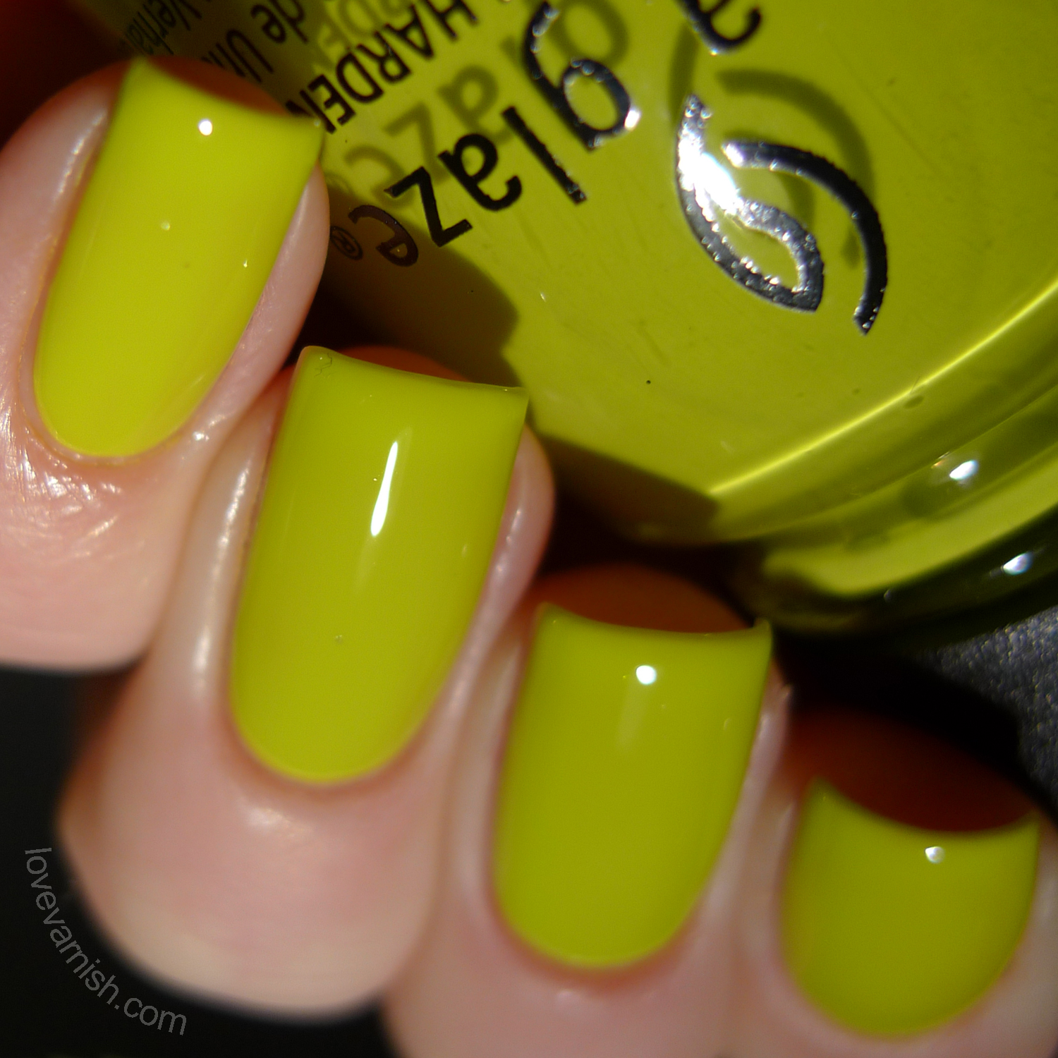 China Glaze Road Trip Trip of a Lime Time