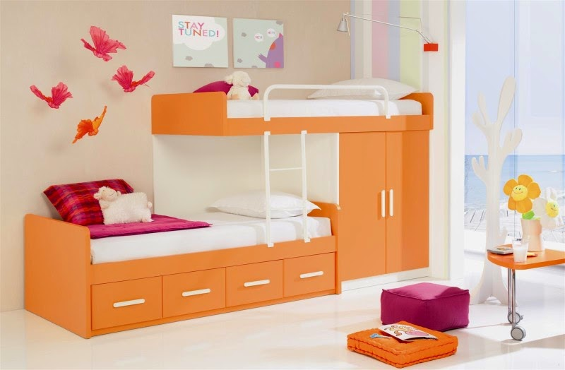Awesome Kids Bedroom Decorating Ideas with Modern Furniture ...
