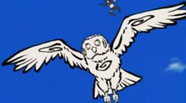 Chōjū Giga (超獣偽画) Burung Hantu