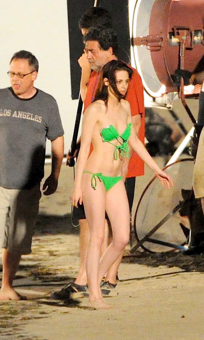 from Damon kristen stewart body naked