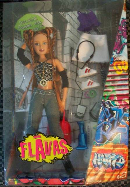 NRFB Flavas Happy D by Mattel