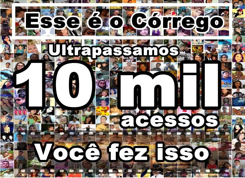 Ultrapassamos 10 mil acessos