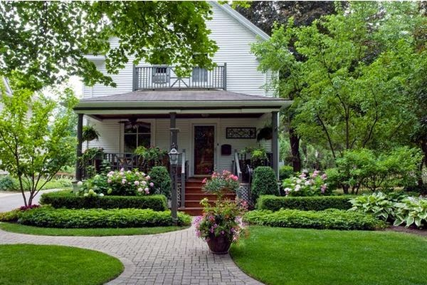 10 ideas for decorating your front yard for Jardines de casas