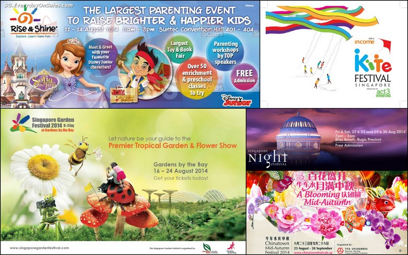 Kids' Activities for 23/24 August Weekend