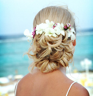 wedding hairstyles beach