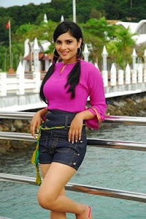 Kannada Actress Ramya Hot Thigh Show
